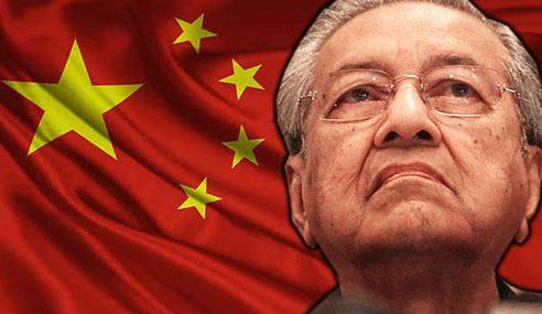 Mahathir Akui Malaysia Mahu Pelaburan Asing China