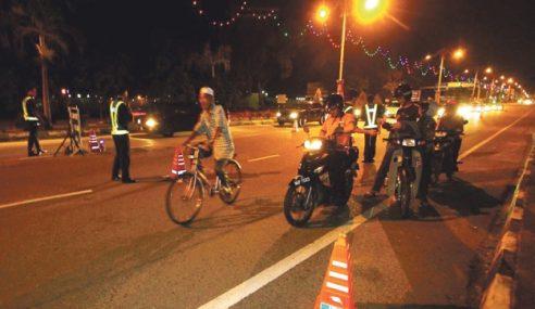Op Khas Motosikal : Penjawat Awam Positif Dadah Ditahan