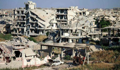 Dua Serangan Udara Ragut 40 Nyawa Di Syria