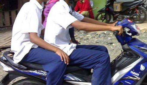 Ibu-Bapa Biar Anak Bawah Umur Tunggang Motosikal