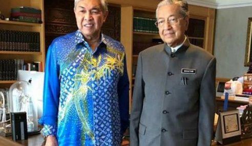 Tun Mahathir Manipulasi Pertemuan Dengan Zahid
