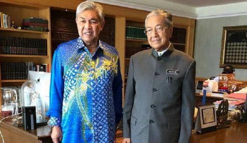 """""""Saya Dijemput Untuk Jumpa Mahathir"""" – Dedah Zahid"""
