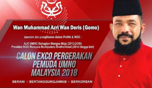 Papagomo Tanding Jawatan Exco Pemuda UMNO