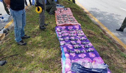 Thai Dakwa 41 Bom Dalam Trak Dihasil Di Malaysia