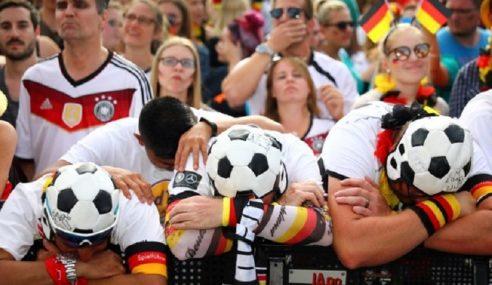 Penyokong Jerman Sedih, Pulang Dengan Mimpi Ngeri