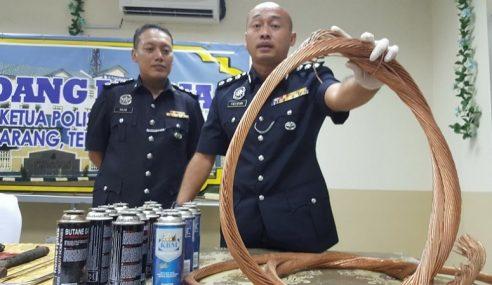 Geng Jepun Aktif Mencuri Kabel Tumpas