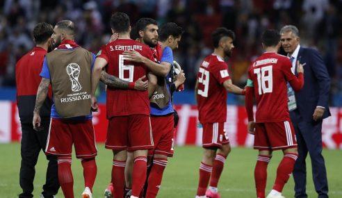 Piala Dunia: Impian Iran Belum Berkubur