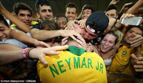 Peminat Digesa Tidak Letak Tekanan Terhadap Neymar