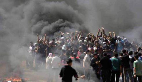Remaja Palestin Maut Ditembak Tentera Zionis