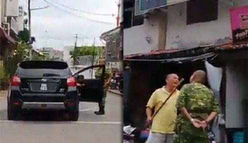 Video: Diancam Dengan Kayu Lepas Tegur Lawan Arus