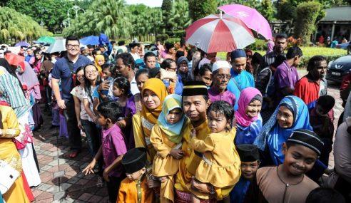 PM Bazir Duit Rakyat Anjur Majlis Rumah Terbuka