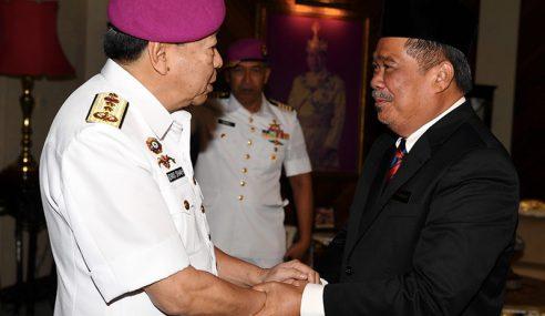 Sultan Selangor Terima Menghadap Mohamad Sabu