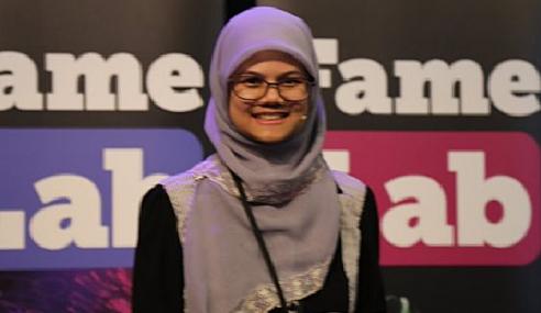 Saintis Muda Malaysia Juara Dunia FameLab International
