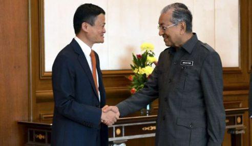Mahathir Kagum Dengan Jack Ma?