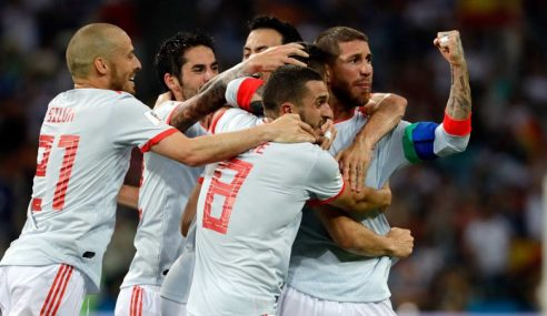 Piala Dunia: Sepanyol Bangkit Benam Iran