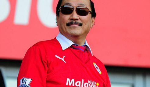 Vincent Tan Ucap Terima Kasih Kepada Sultan Johor