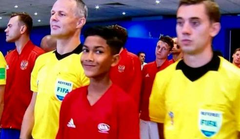 Anak Malaysia Pembawa Bola Piala Dunia
