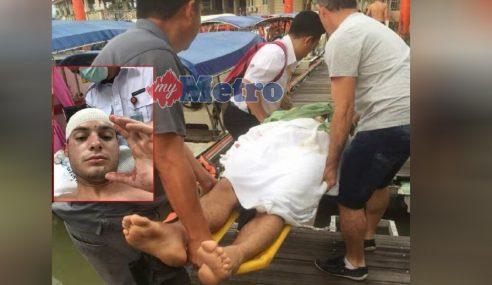 Penyerang Tok Gajah, Adik Lelaki Cedera Diserang
