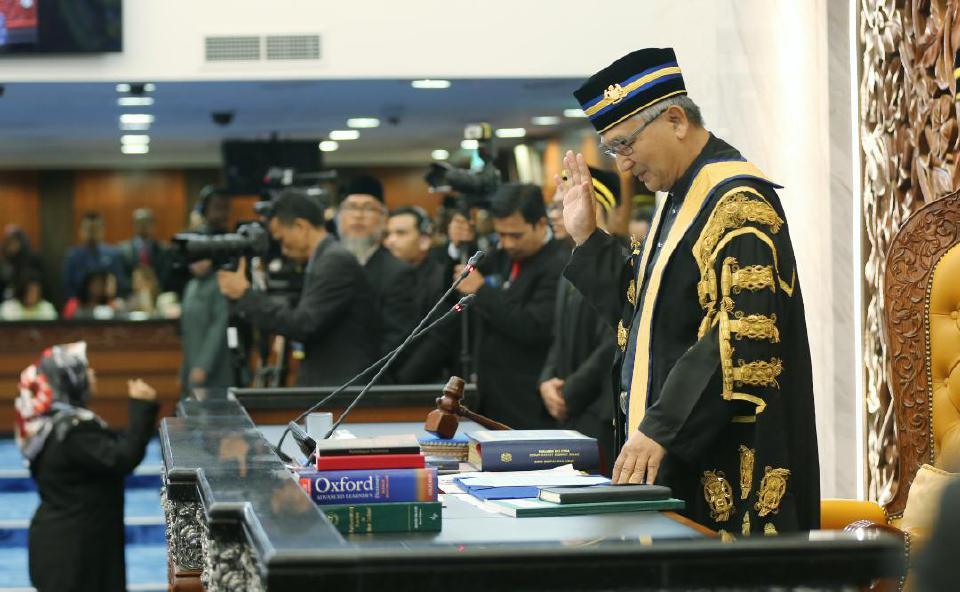 Mohamad Ariff Dimasyhurkan Yang Dipertua Dewan Rakyat
