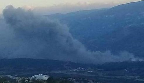 Israel Lancar Serangan Udara Di Misyaf