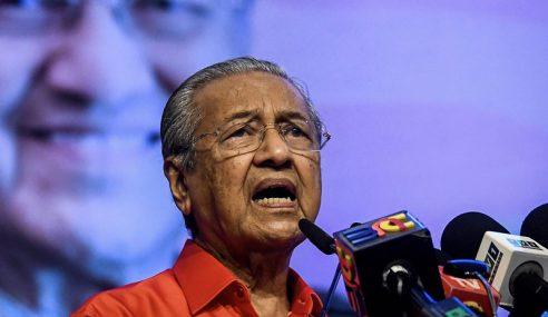"""""""Saya Tidak Campuri Urusan PKR"""" – Mahathir"""