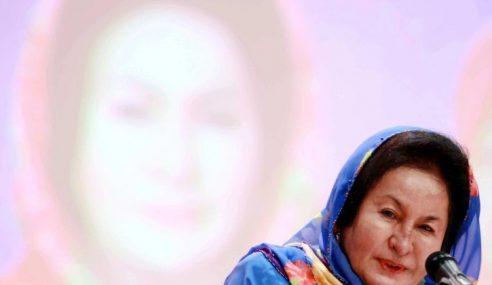 Rosmah Nafi Beli Barang Kemas