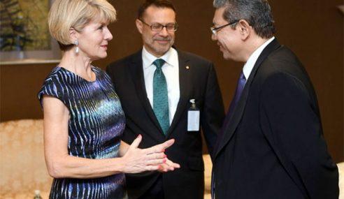 Saifuddin Terima Kunjungan Rakan Sejawatan Dari Australia