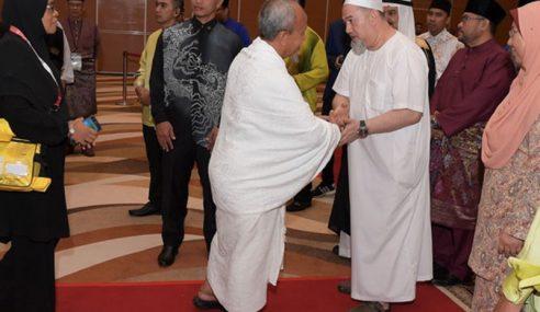 Agong Ucap Selamat Jalan Kepada Jemaah Haji