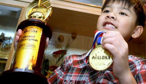 Murid Darjah 2 Juara Pertandingan Matematik Antarabangsa