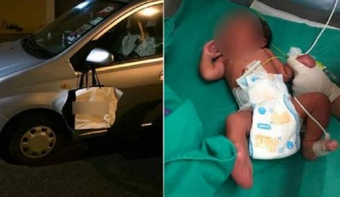 Bayi Dalam Beg Kertas Dirawat Di Hospital
