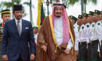 Tiba-Tiba Saudi Mula Rapat Brunei, Jauhi Malaysia
