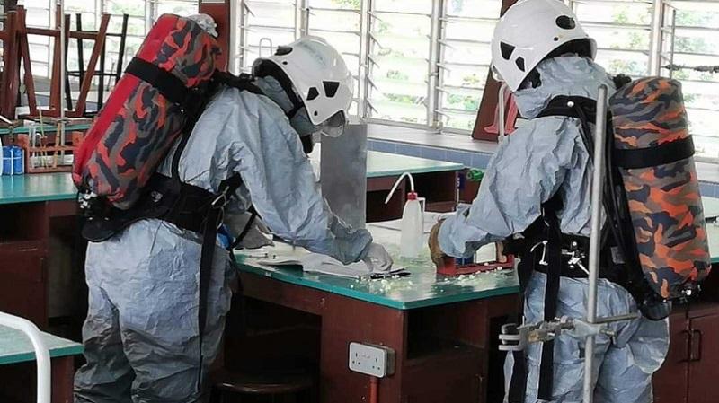 3 Pelajar Dikejarkan Ke Hospital Akibat Tumpahan Merkuri
