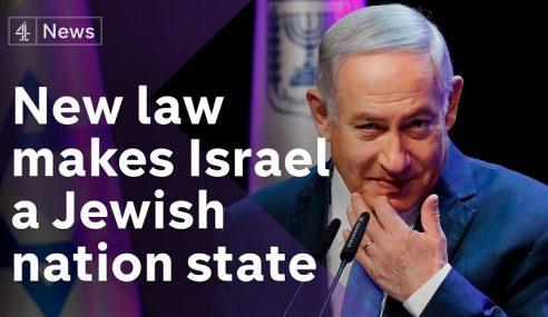 Malaysia Kutuk Undang-Undang 'Jewish Nation-State'