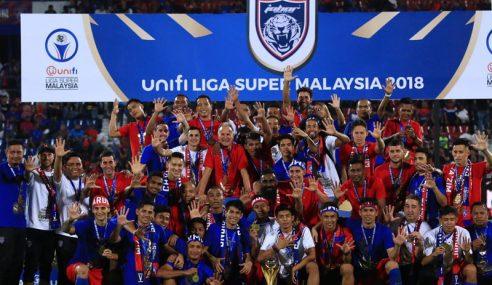 JDT Julang Trofi Liga Super Kali Ke-5 Berturut-Turut