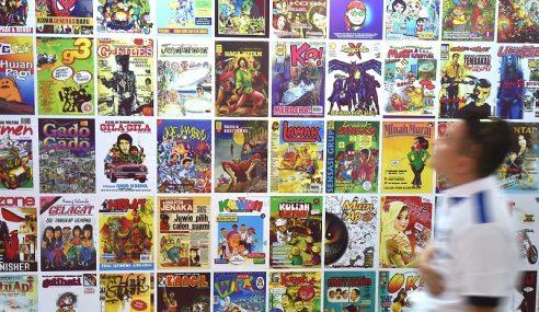 500 Karya Animasi, 100 Kartunis Di Muzium Terengganu