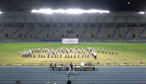Pancaragam SMK Sultan Ibrahim Juara Dunia