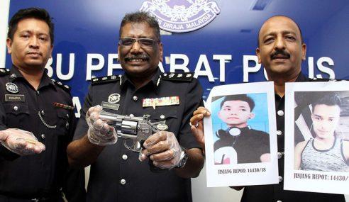 Polis Tahan 9 Individu Edar Dadah, Rampas Pistol