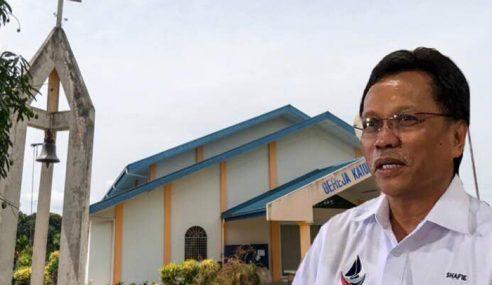 Shafie Mahu Bina Banyak Gereja Di Sabah