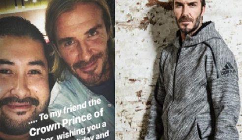TMJ Terima Ucapan Hari Lahir Daripada Beckham