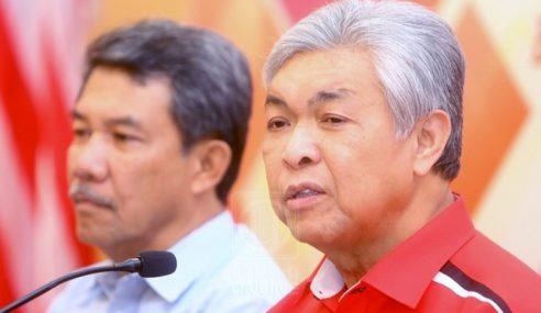 Tidak Bermaruah Keluar UMNO – Zahid