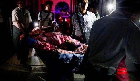Hospital Umum Myanmar Hangus, 60 Pesakit Dipindah