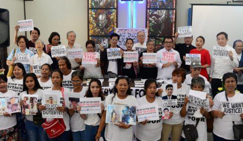 Duterte Didakwa Arah Pembunuhan Beramai-Ramai