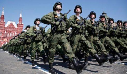 Rusia Adakan Latihan Perang Terbesar Sejak Perang Dingin