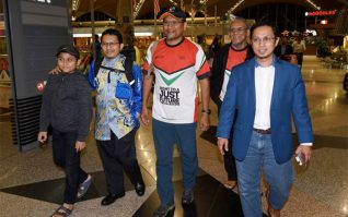 Rakyat Malaysia Bebas Jel Israel Tiba Di Tanah Air