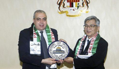 Duta Palestin Kunjungi Speaker Dewan Rakyat
