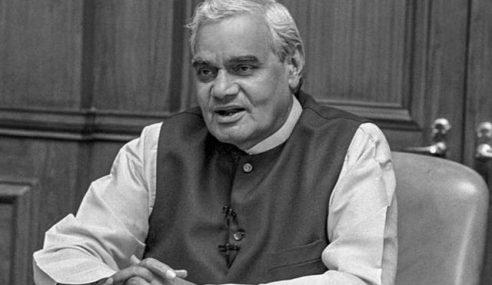 Bekas PM India, Vajpayee Meninggal Dunia