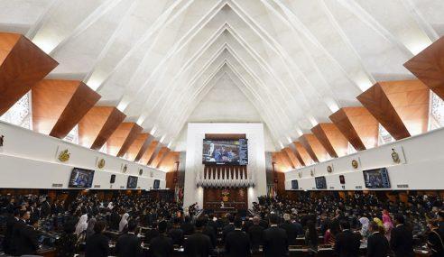 Persidangan Dewan Rakyat Ditangguh