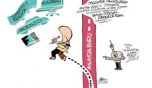 Zunar Mula Meluat Dengan Mahathir