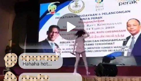 MB Perak Terlibat Majlis Tampil Wanita Seksi?