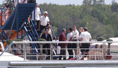 Mahathir Melawat Kapal Layar Equanimity